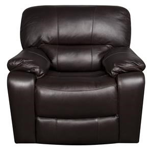 Stitch Coleman Coleman Leather-Match* Recliner