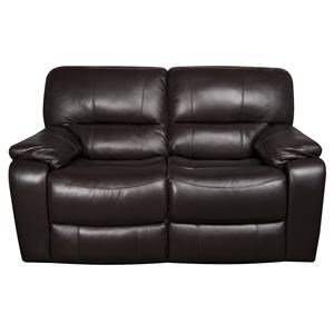 Stitch Coleman Coleman Leather-Match* Power Reclining Loves
