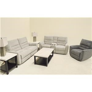 Power Headrest Sofa, Loveseat with Console a
