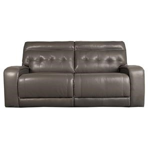 Stitch Willem Willem Power *Leather-Match Reclining Sofa