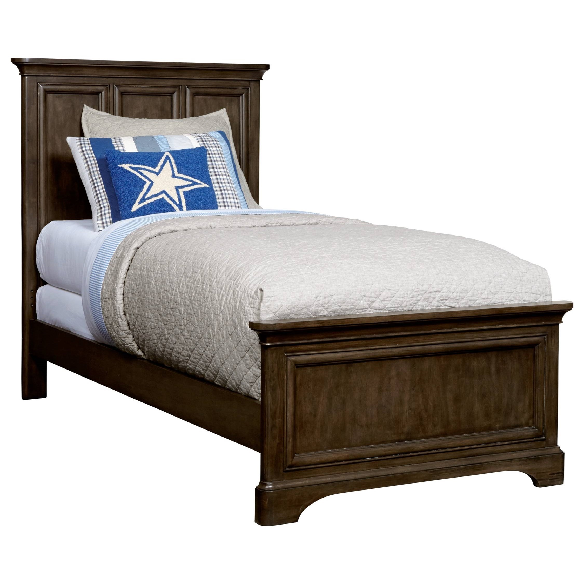 Stone & Leigh Furniture Chelsea Square Twin Panel Bed - Item Number: 584-13-35