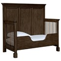Stone & Leigh Furniture Chelsea Square Built To Grow Toddler Bed Kit