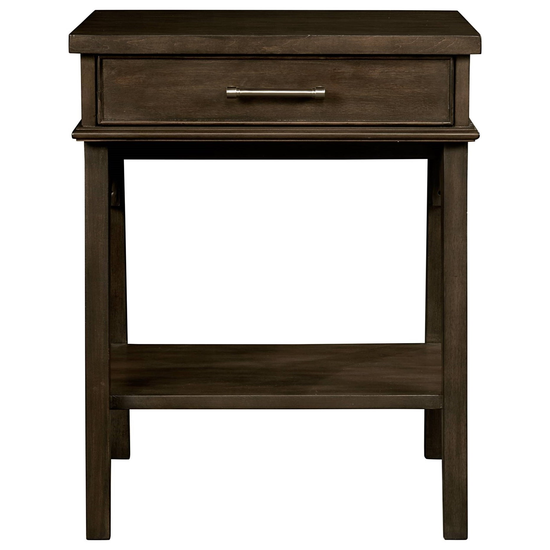 Stone & Leigh Furniture Chelsea Square Bedside Table - Item Number: 584-13-80