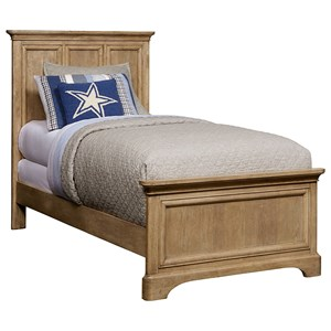 Stone & Leigh Furniture Chelsea Square Twin Panel Bed