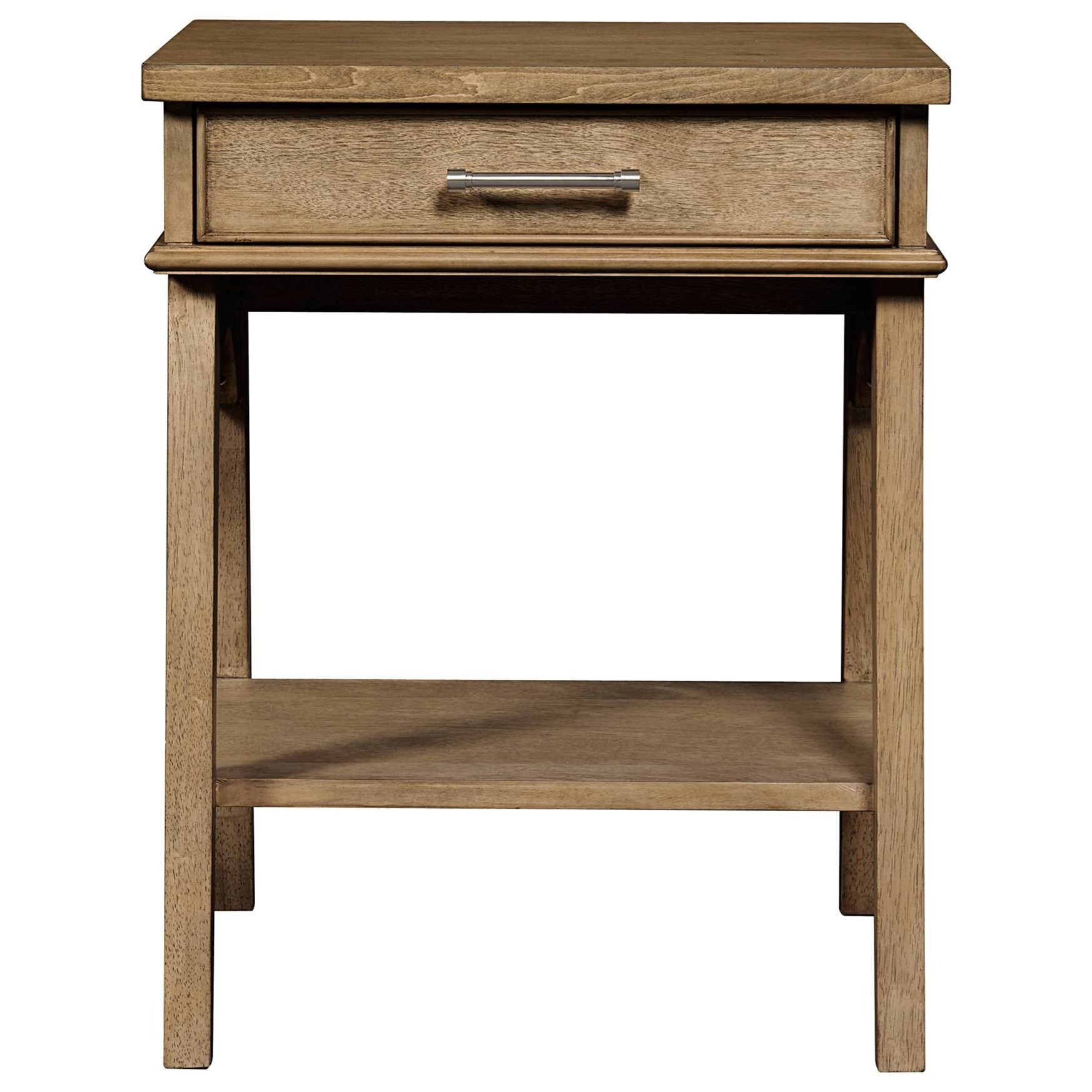 Stone & Leigh Furniture Chelsea Square Bedside Table - Item Number: 584-63-80