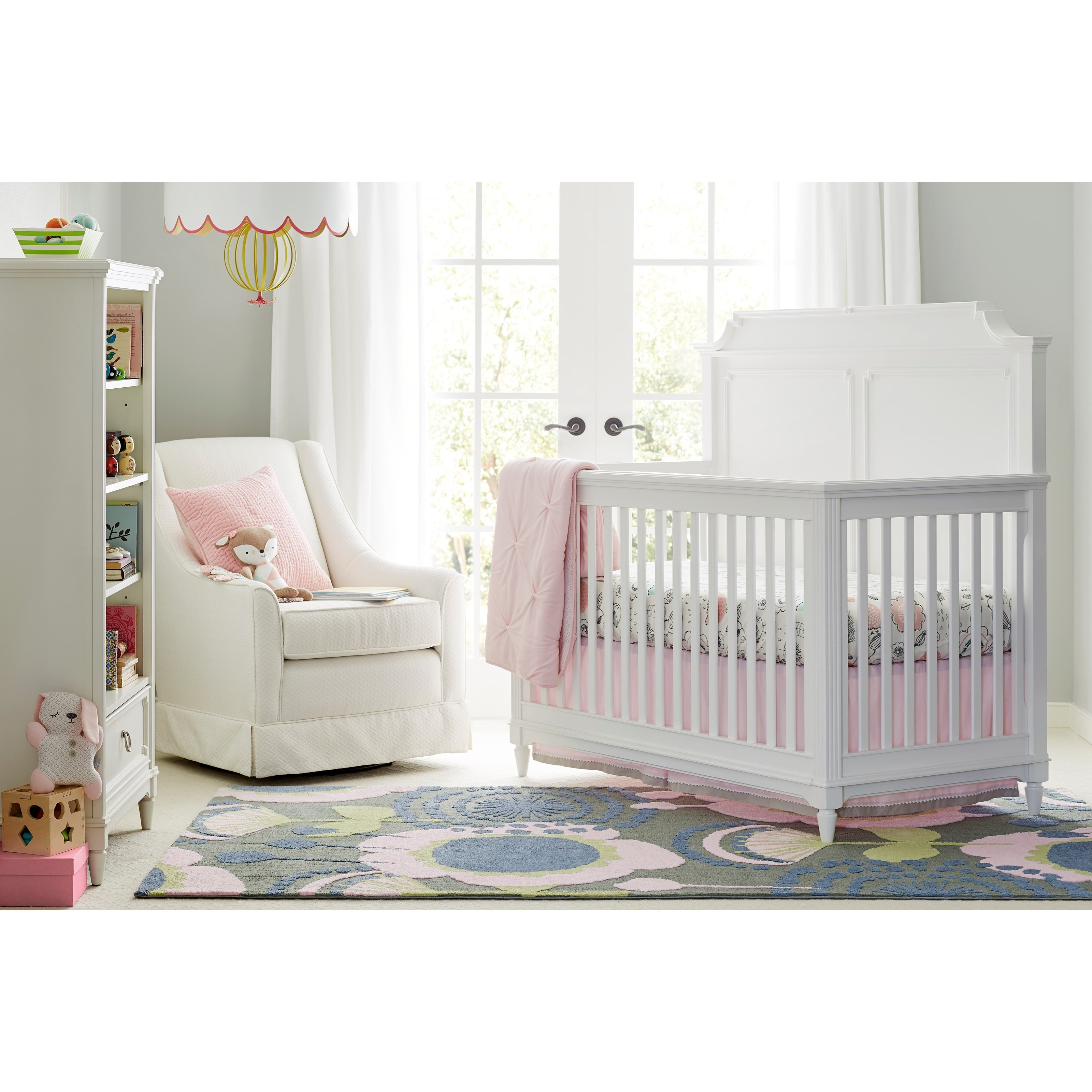 Stone & Leigh Furniture Clementine Court Crib Bedroom Group - Item Number: 537-23 C Bedroom Group 2