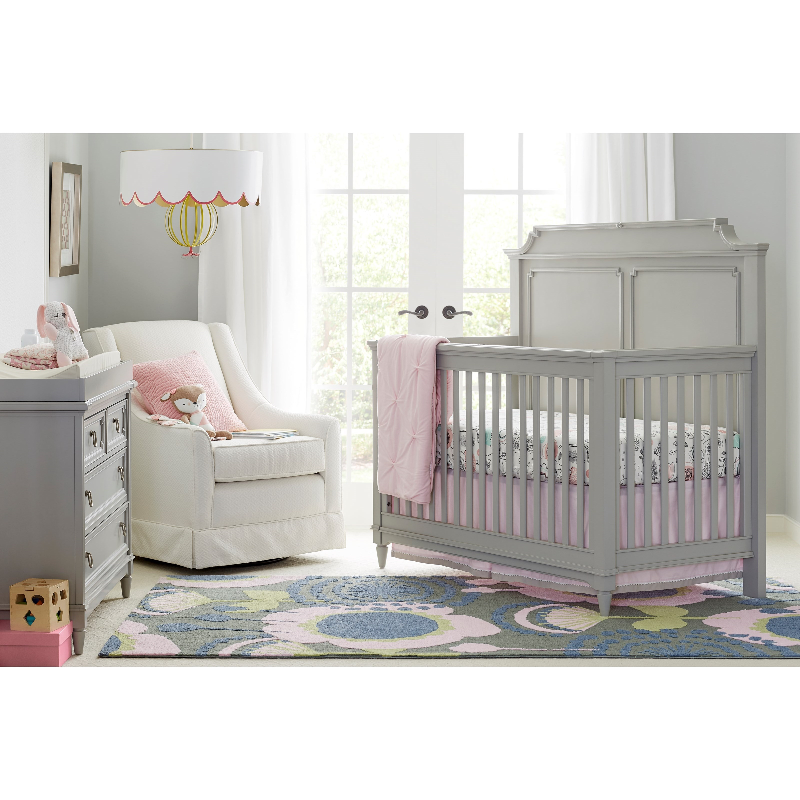 Stone & Leigh Furniture Clementine Court Crib Bedroom Group - Item Number: 537-53 C Bedroom Group 1