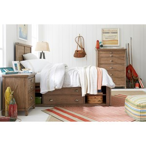 Stone & Leigh Furniture Driftwood Park Full Bedroom Group