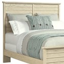 Stone & Leigh Furniture Driftwood Park Queen/Full Panel Headboard - Item Number: 536-13-245