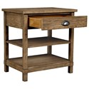 Stone & Leigh Furniture Driftwood Park Bedside Table