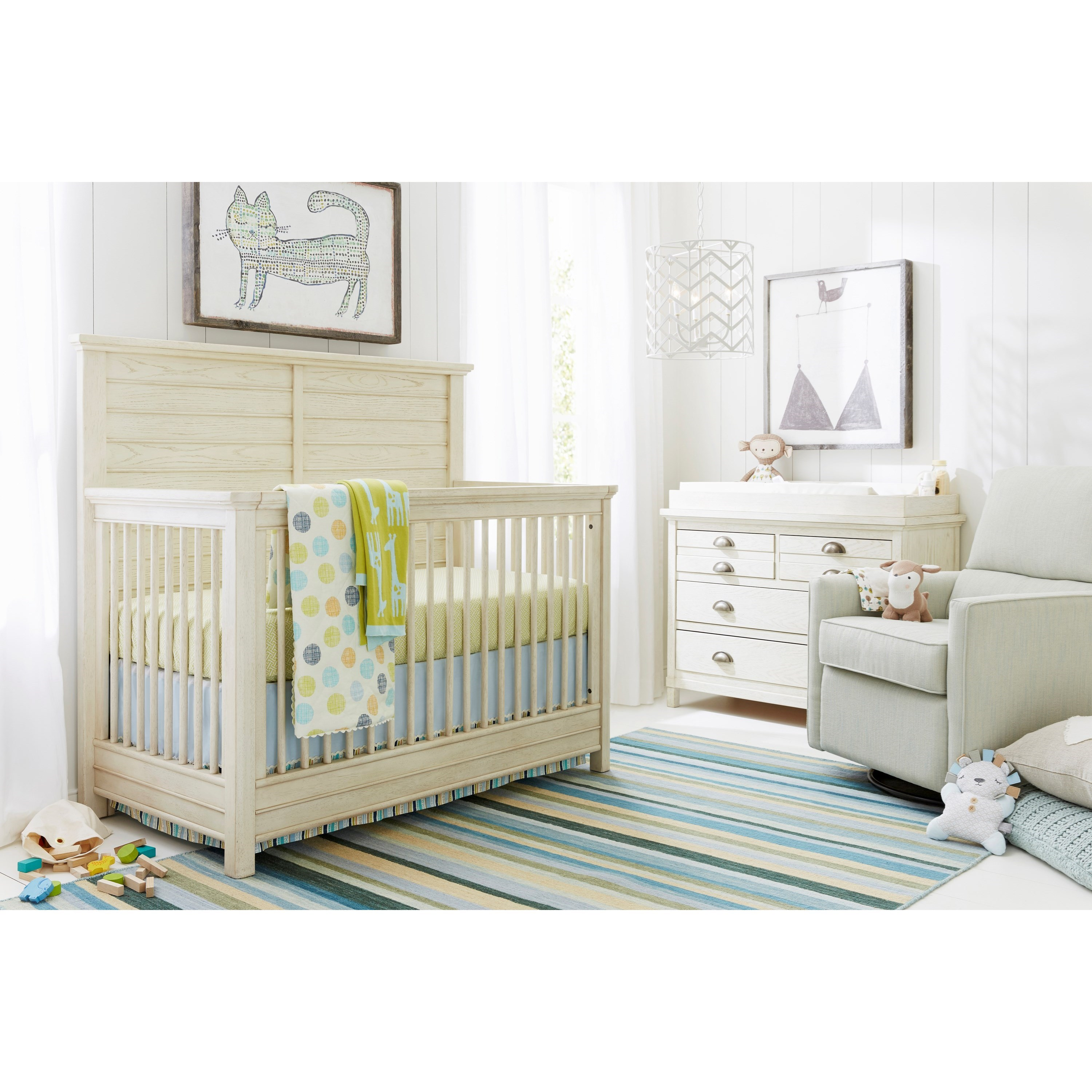 Stone & Leigh Furniture Driftwood Park Crib Bedroom Group - Item Number: 536-23 C Bedroom Group 1