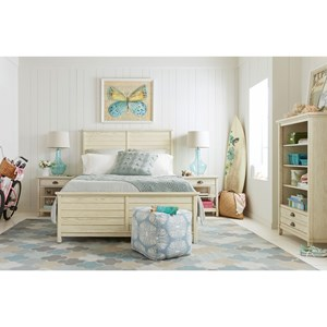 Stone & Leigh Furniture Driftwood Park Queen Bedroom Group