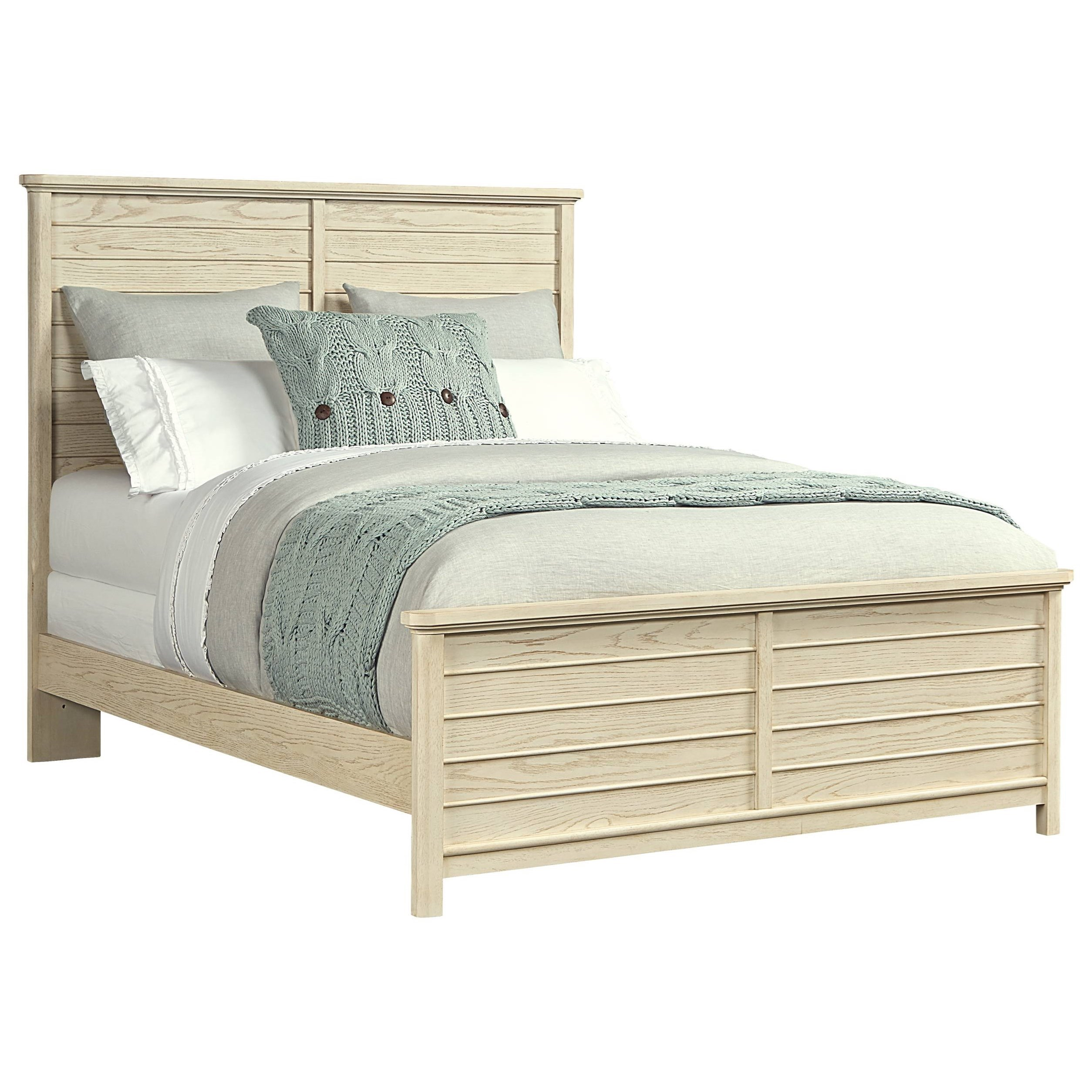 Stone & Leigh Furniture Driftwood Park Queen Panel Bed - Item Number: 536-23-45