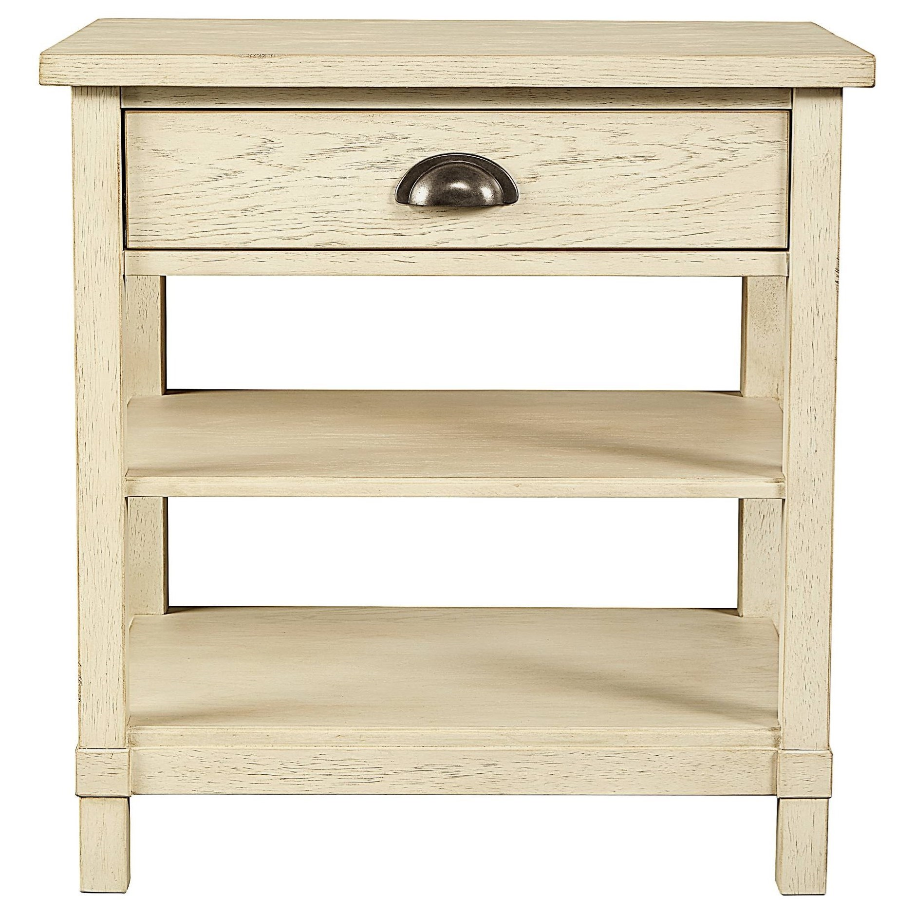 Stone & Leigh Furniture Driftwood Park Bedside Table - Item Number: 536-23-80