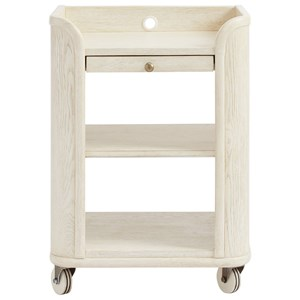 Stone & Leigh Furniture Driftwood Park Bedside Storage Table