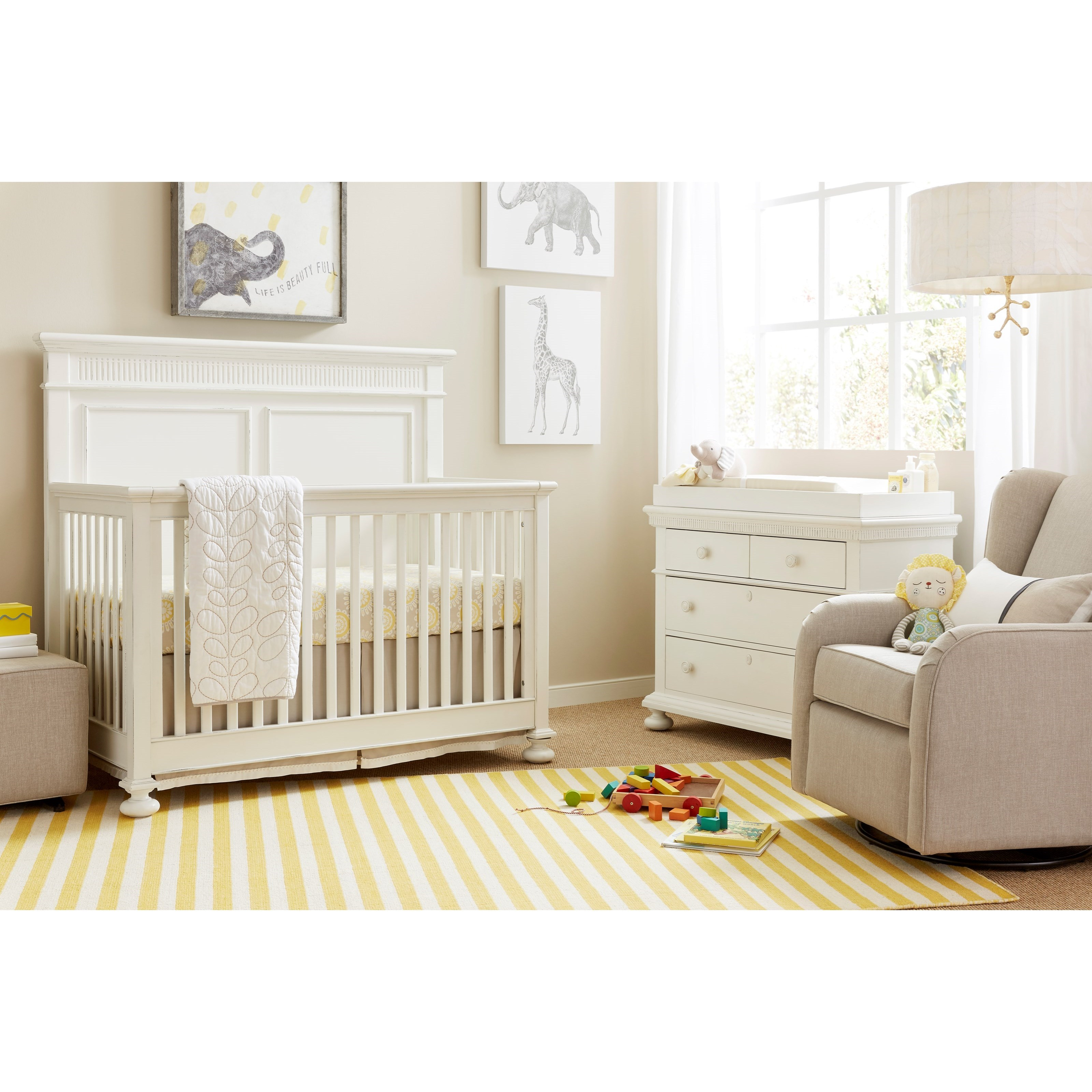 Stone & Leigh Furniture Smiling Hill Crib Bedroom Group - Item Number: 560-23 C Bedroom Group 1