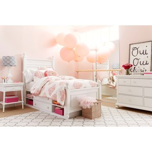 Stone & Leigh Furniture Smiling Hill Twin Bedroom Group