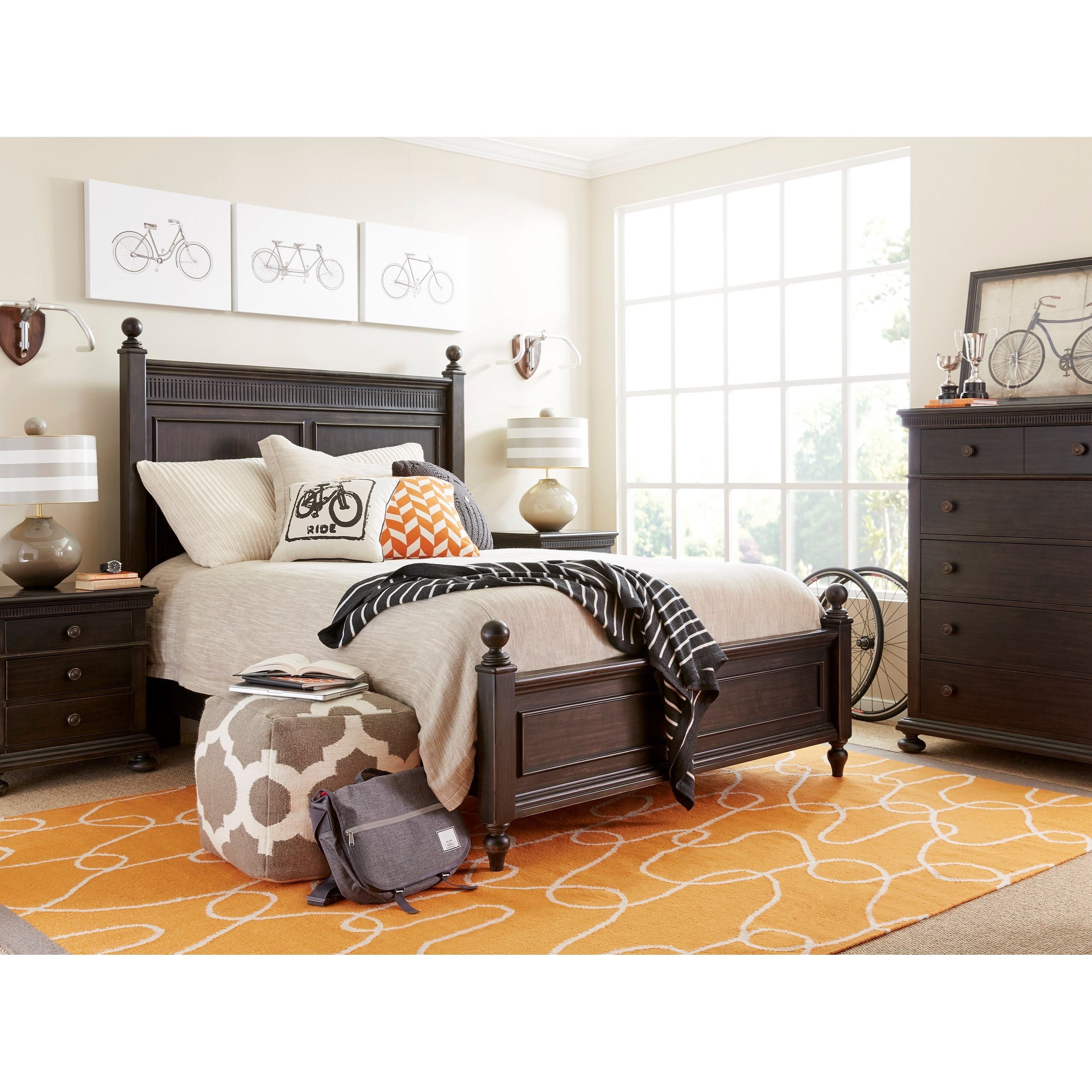 Stone & Leigh Furniture Smiling Hill Full Bedroom Group - Item Number: 560-83 F Bedroom Group 1
