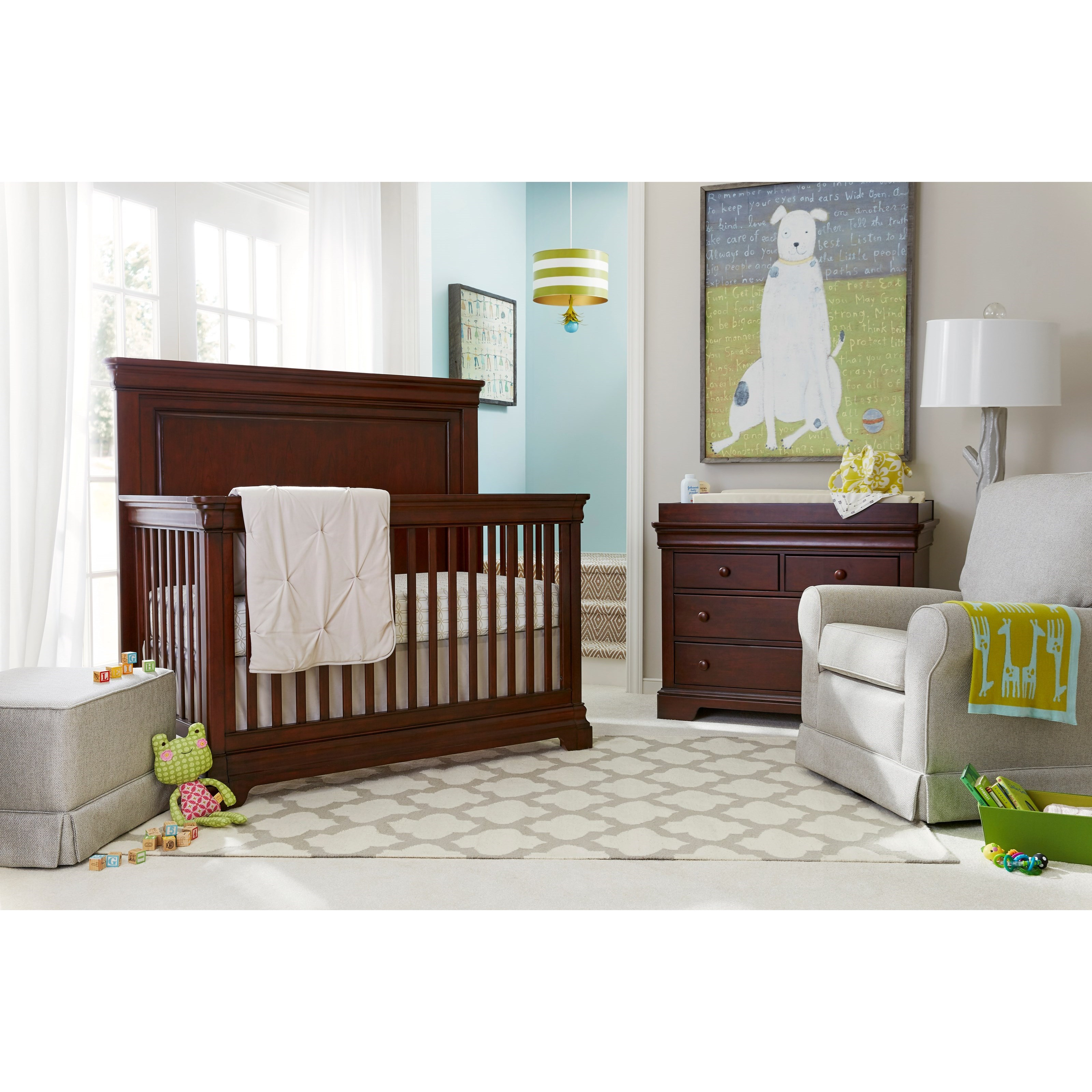 Stone & Leigh Furniture Teaberry Lane Crib Bedroom Group - Item Number: 575-13 C Bedroom Group 1