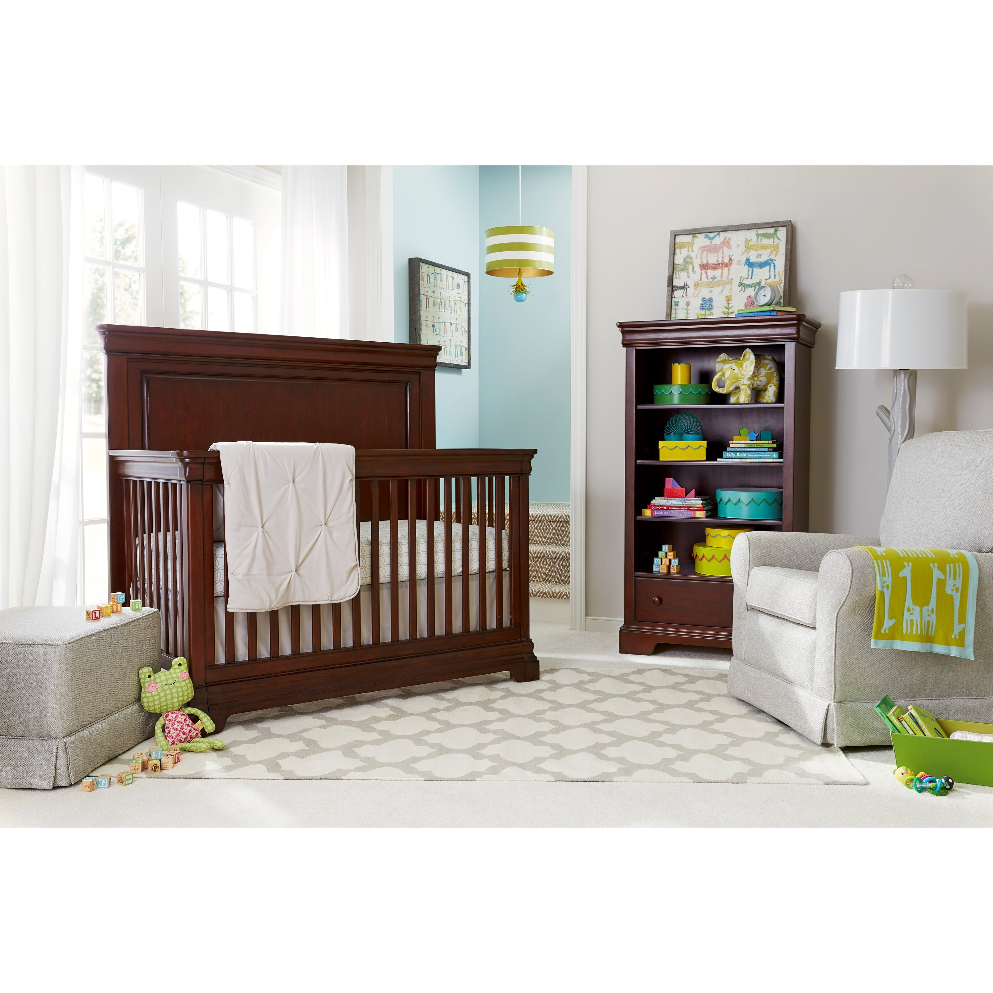 Stone & Leigh Furniture Teaberry Lane Crib Bedroom Group - Item Number: 575-13 C Bedroom Group 2