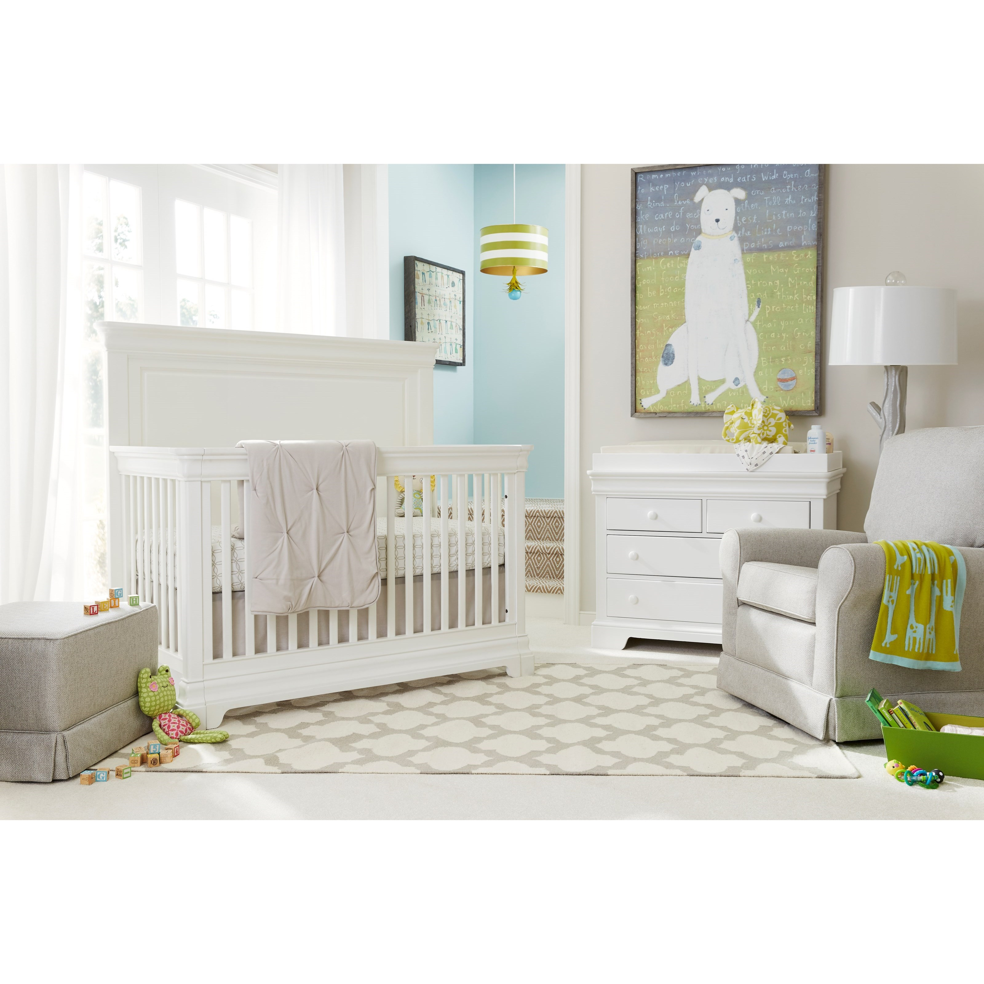 Stone & Leigh Furniture Teaberry Lane Crib Bedroom Group - Item Number: 575-23 C Bedroom Group 1
