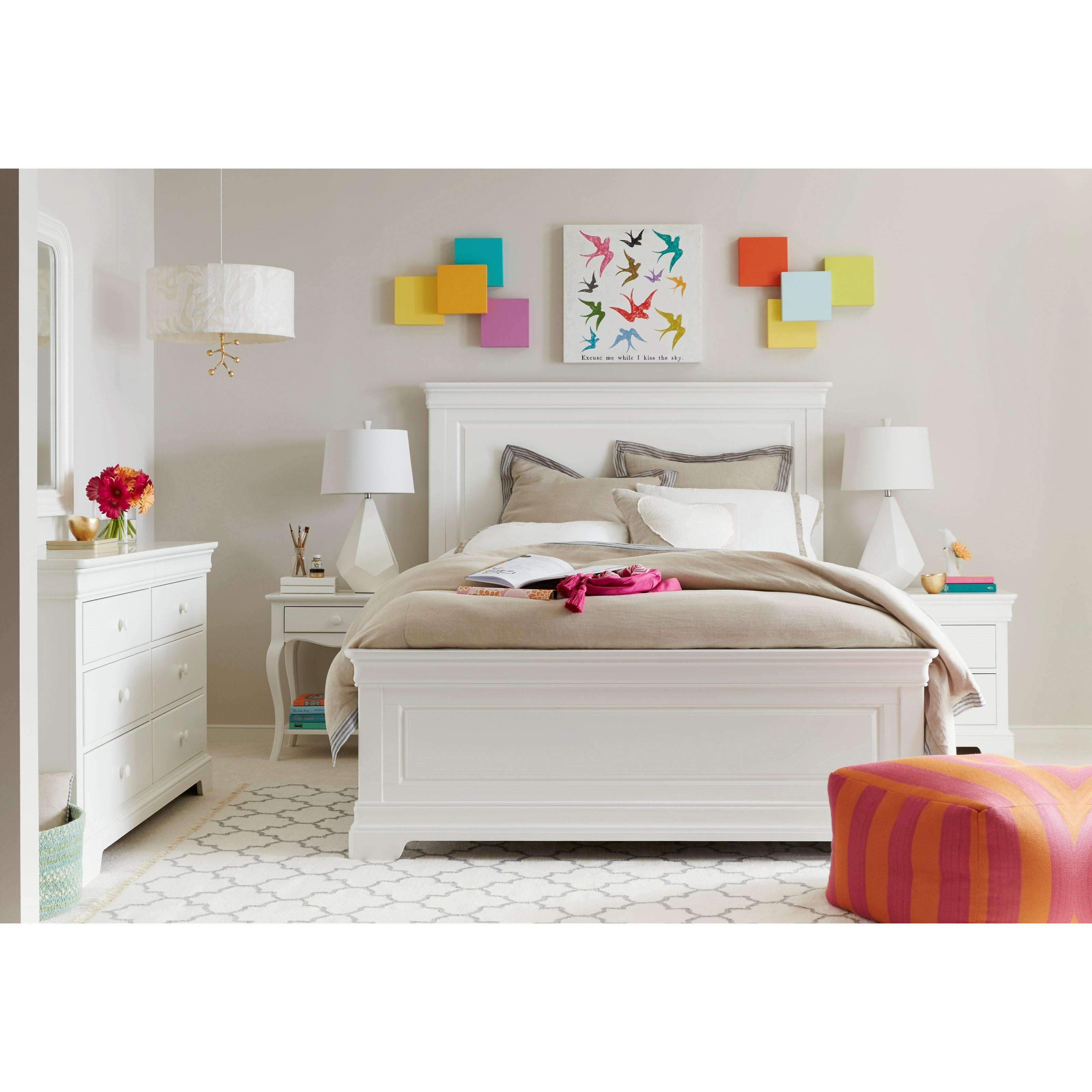 Stone & Leigh Furniture Teaberry Lane Twin Bedroom Group - Item Number: 575-23 T Bedroom Group 1