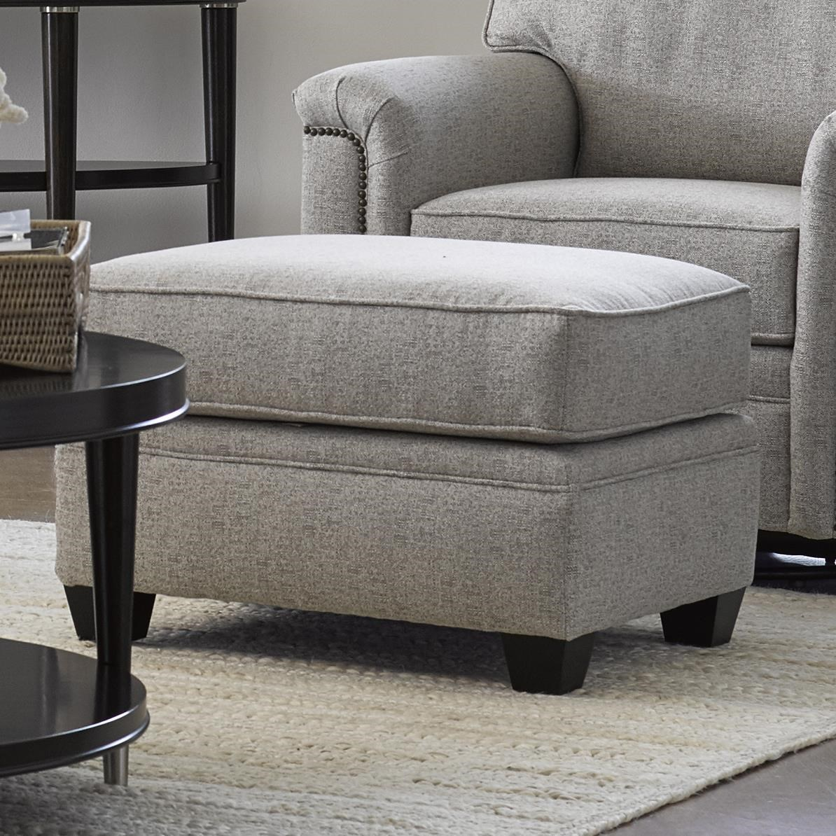 Warren Ottoman by Stone & Leigh Furniture at Baer's Furniture