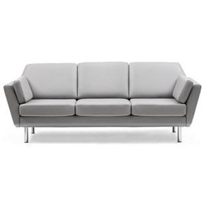 Stressless Air 3 Seater Trio Cushion Reclining Sofa