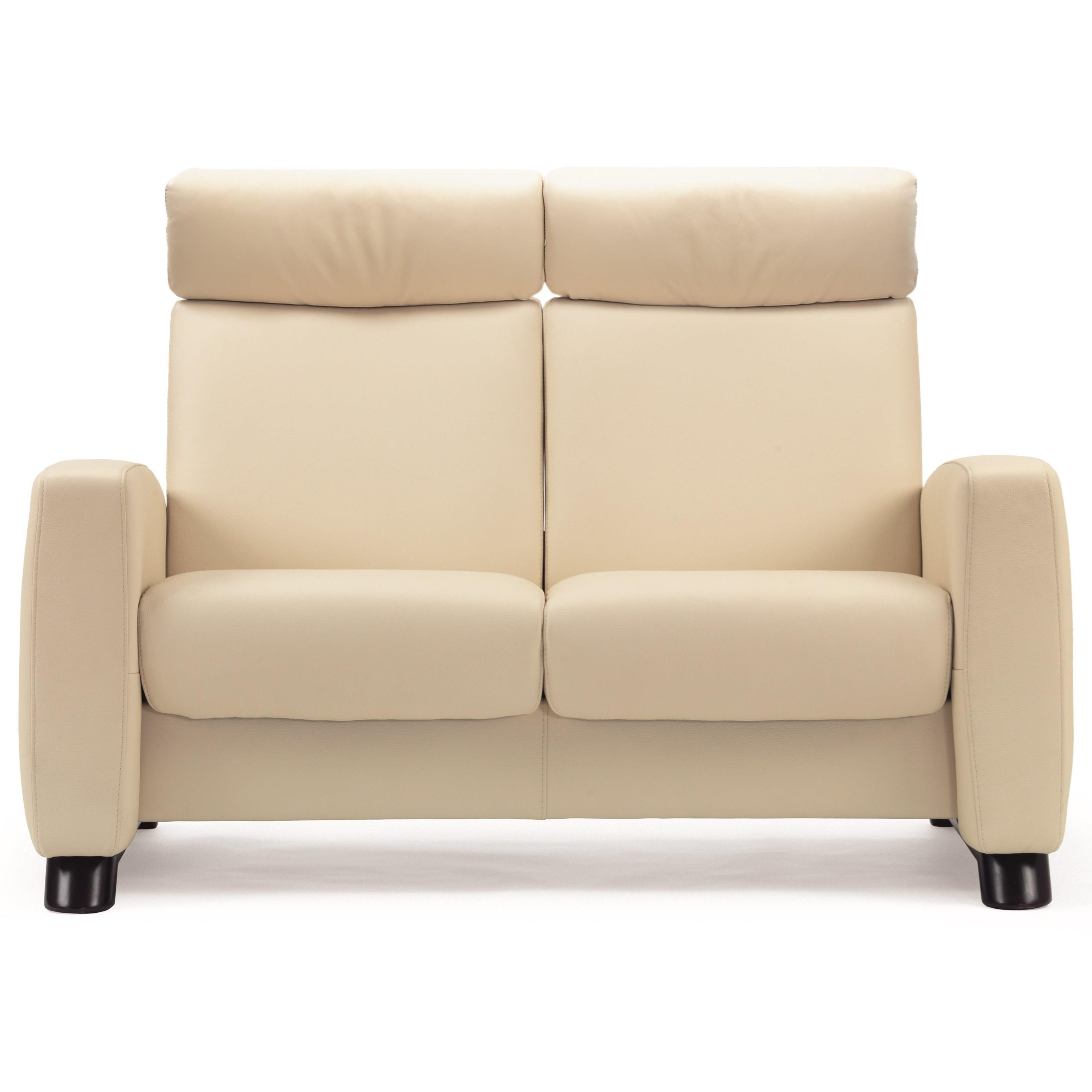 Arion 19 - A10 High-Back Reclining Loveseat by Stressless at Bennett's Furniture and Mattresses