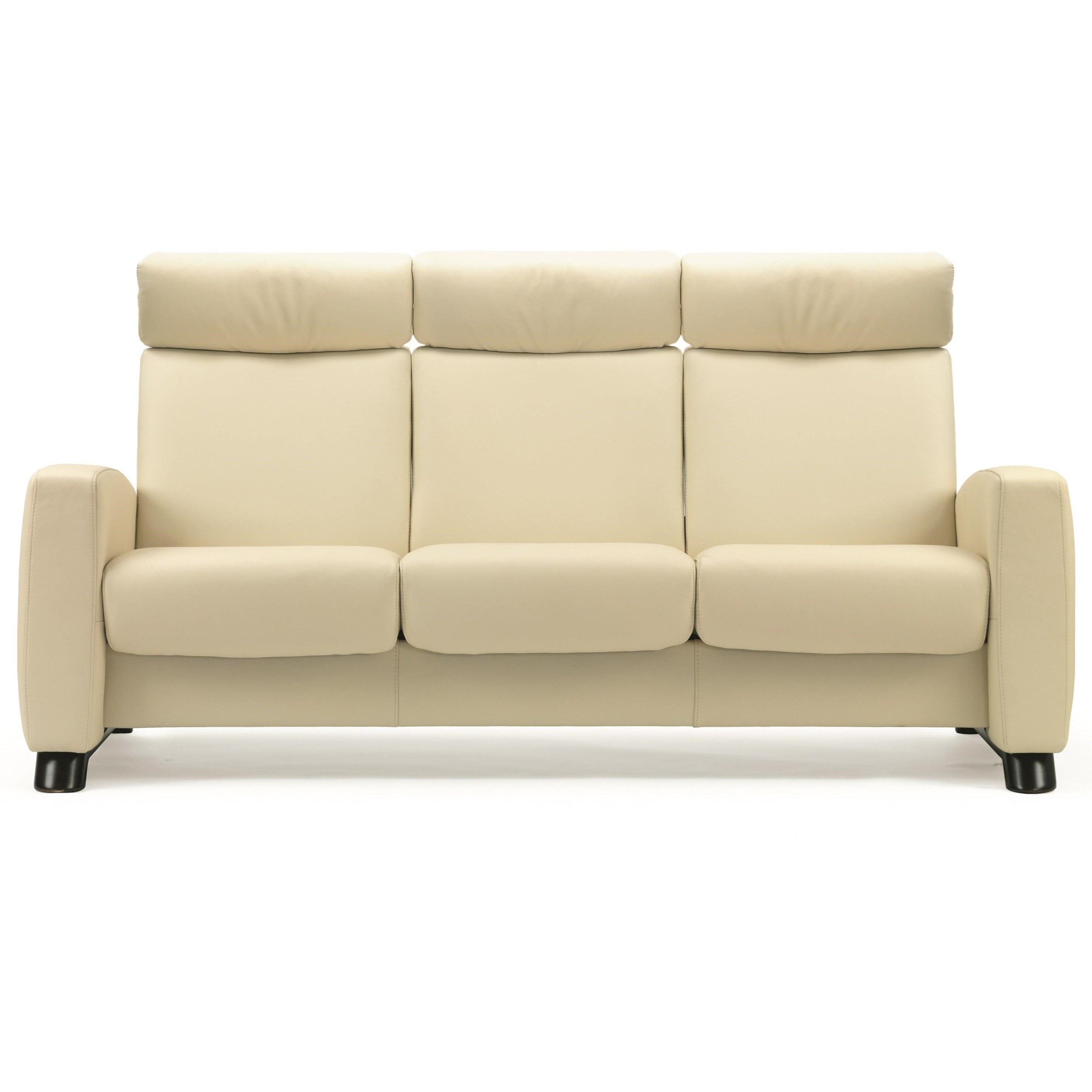 Arion 19 - A10 High-Back Reclining Sofa by Stressless at Bennett's Furniture and Mattresses