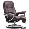 Stressless Consul Large Reclining Chair with Signature Base - Item Number: 1020310