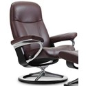 Stressless Consul Small Reclining Chair with Signature Base - Item Number: 1145310