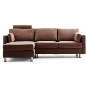 Reclining 2-Seat with Long Seat Sectional