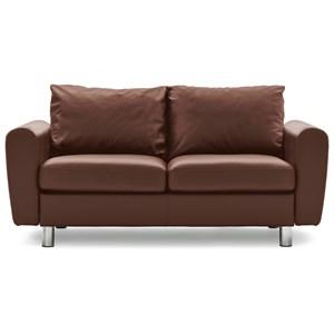 Sensational Stressless Emma E350 Contemporary Reclining 2 Seat With Long Inzonedesignstudio Interior Chair Design Inzonedesignstudiocom