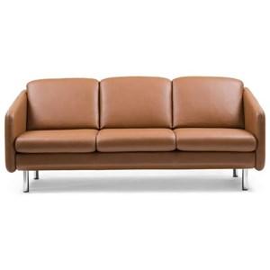 Stressless Eve 3 Seater Trio Cushion Reclining Sofa