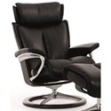 Stressless Magic Medium Reclining Chair with Signature Base - Item Number: 1144310