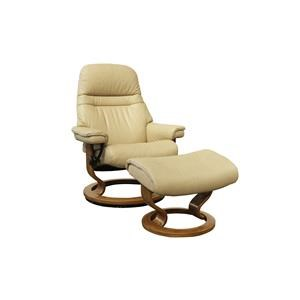 Medium Stressless Chair & Ottoman