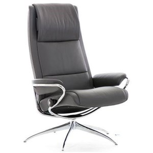 High Back Recliner with Standard Star Base