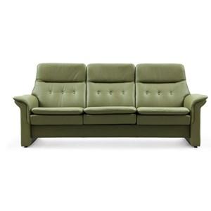 Stressless Saga High-Back Reclining Sofa