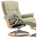 Stressless Nordic Large Reclining Chair with Signature Base - Item Number: 1282310