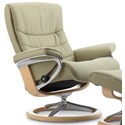 Stressless Nordic Medium Reclining Chair with Signature Base - Item Number: 1283310
