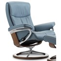 Stressless Peace Medium Reclining Chair with Signature Base - Item Number: 1316310