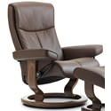 Stressless Peace Large Reclining Chair with Classic Base - Item Number: 1317010