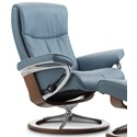 Stressless Peace Large Reclining Chair with Signature Base - Item Number: 1317310