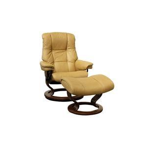 Small Stressless Chair & Ottoman