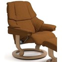 Stressless Reno Large Reclining Chair with Classic Base - Item Number: 1164010