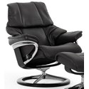 Stressless Reno Large Reclining Chair with Signature Base - Item Number: 1164310