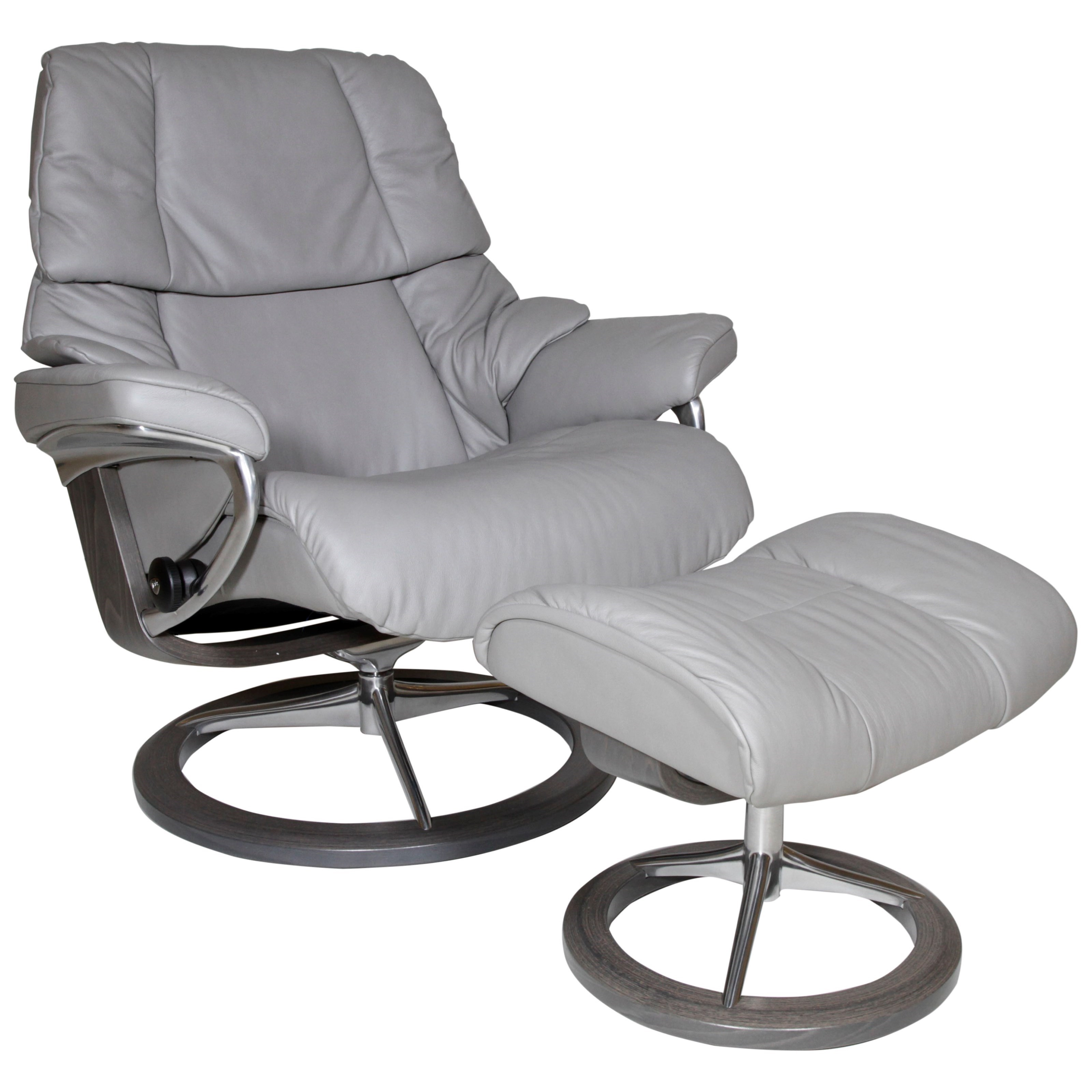 Large Recliner and Ottoman