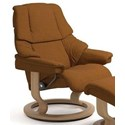 Stressless Reno Medium Reclining Chair with Classic Base - Item Number: 1169010