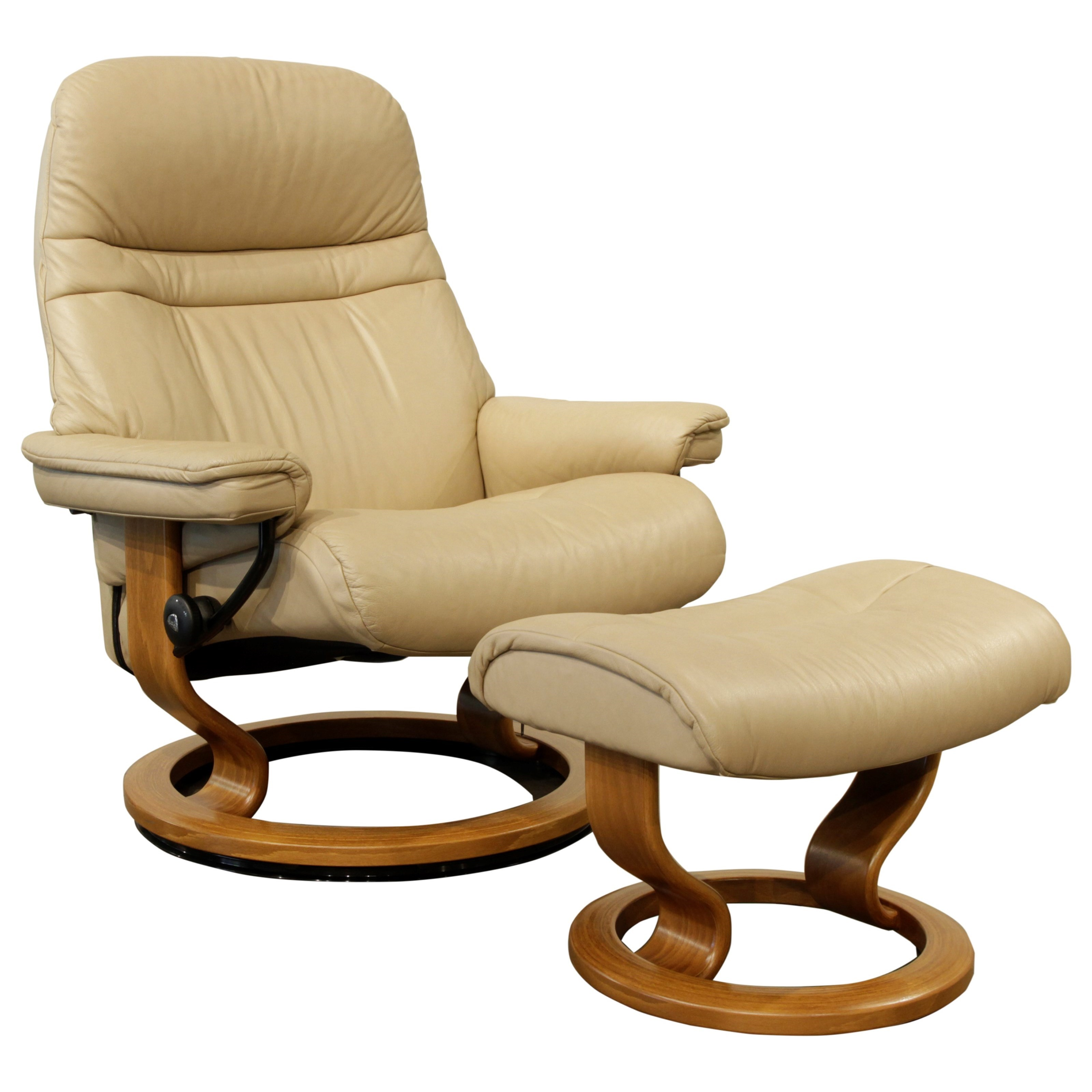 Large Reclining Chair & Ottoman